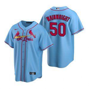 St. Louis Cardinals Adam Wainwright Jersey Blue